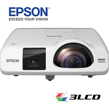Projector de video Epson EB-520curta distância
